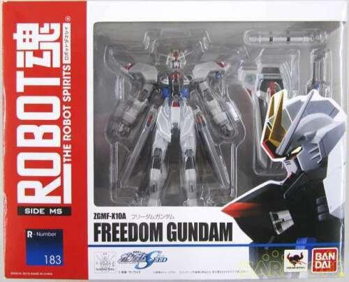 Bandai Mobile Suit GundamRobot Spirits Side MS Freedom GundamFigure