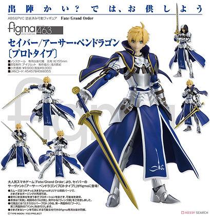 "Max Factory Figma ""Fate/Grand Order"" Saber / Arthur Pendragon (Prototype)Figure"