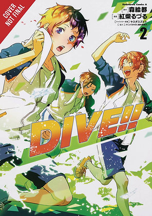 DIVE GN VOL 01,02  YEN PRESS