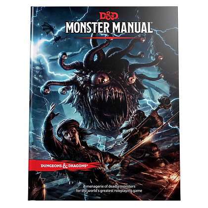 Monster Manual (Dungeons & Dragons) Hardcover