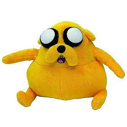 "Adventure Time Fat Jake The Dog 7"" Plush ZOOFY INTERNATIONAL Finn and Jake adven"