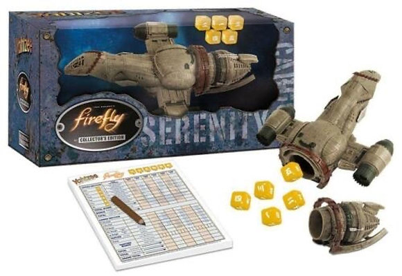 Yahtzee - Firefly Themed Collector's Edition w/ Serenity Spaceship Dice Cup