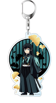 """Demon Slayer: Kimetsu no Yaiba"" Deka Key Chain Tokito Muichiro"