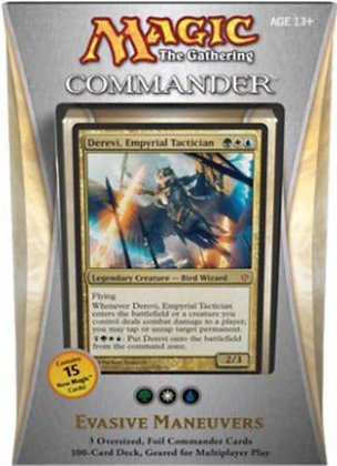 2013 Magic the Gathering MTG ENGLISH Commander Evasive Maneuvers Deck Sealed