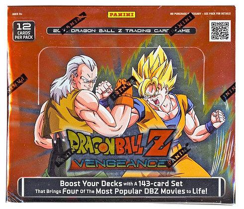 2016 DBZ Dragonball Z Vengeance Booster Box TCG English Card Game - 24 packs / 1