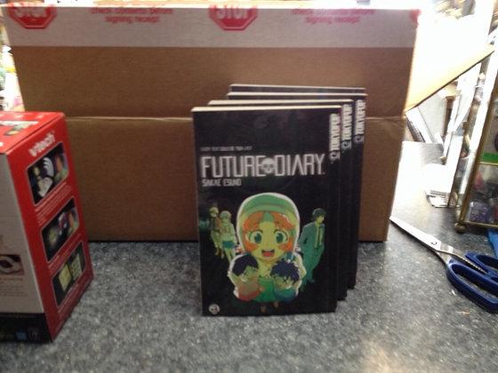 Future Diary, Vol. 1,2,3,4 Tokyopop Manga Books