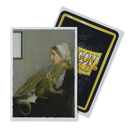 Dragon Shields: (100) Art Sleeves Classic Whistler`s Mother card sleeves