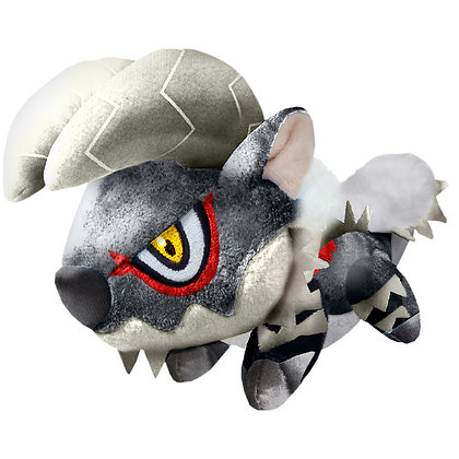 "Capcom ""Monster Hunter"" Deformed Plush Zinogre Subspecies"