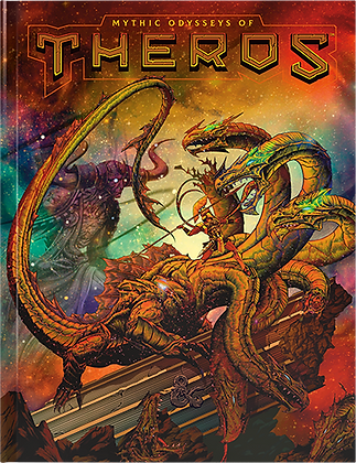 Dungeons & Dragons Mythic Odysseys of Theros Alternate Cover