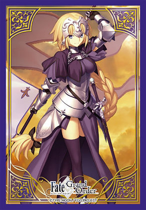 Broccoli Character Card Sleeve Mini Fate/Grand Order [Ruler/Jeanne d`Arc]