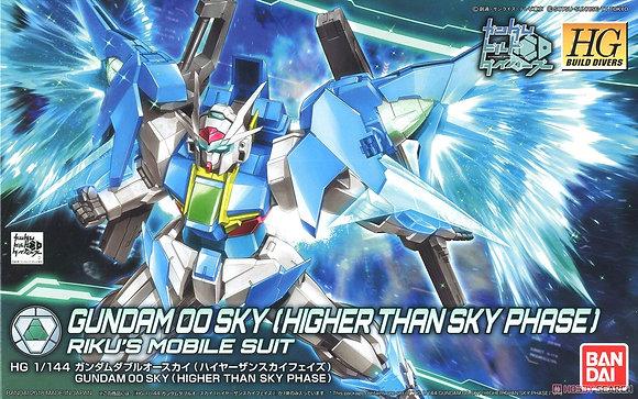 BandaiGundam 00 Sky (Higher Than Skyphase) (HGBD) (Gundam Model Kit)