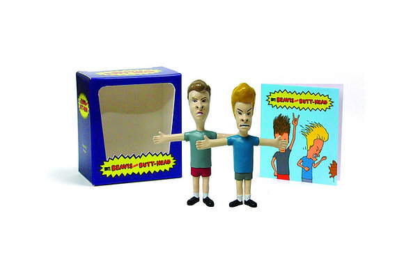 Beavis and Butt-Head (Mega Mini Kits) Paperback – January 1, 2012 by Mike (CRT)
