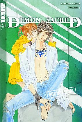DEMON SACRED GN VOL 2,3  TOKYOPOP Manga
