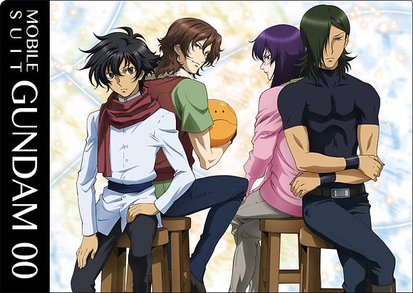 """""""Gundam 00"""" Clear File A by Movic"""