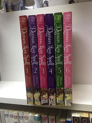 DEMON LOVE SPELL GN VOL VOL 1,2,3,4,5,6 MANGA (6 BOOKS)