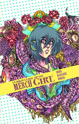 YUMIKO CURSE OF THE MERCH GIRL HC (MR) DEVILS DUE (W) Josh Blaylock, Murs (A) J
