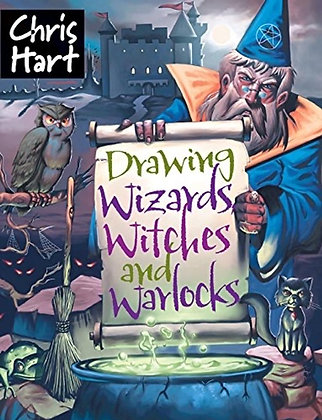 Drawing Wizards, Witches and Warlocks (Academy of Fantasy Art) Paperback
