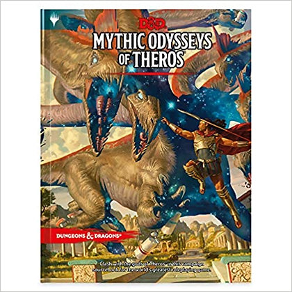 Dungeons & Dragons Mythic Odysseys of Theros (Campaign Setting Book)