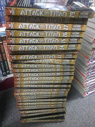 Attack on Titan Vol. 1-30 (Manga) (Books)