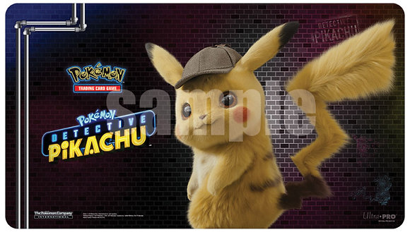 Pokemon: Detective Pikachu Play Mat - Pikachu ULTRA PRO INTERNATIONAL, LLC