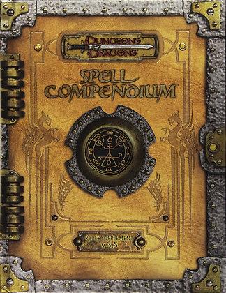 Premium 3.5 Edition Dungeons & Dragons Spell Compendium Hardcover