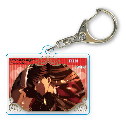 """Fate/stay night -Heaven's Feel-"" Memorys Key Chain 4"