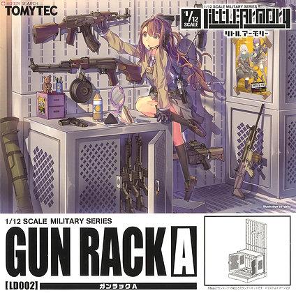 1/12 Little Armory (LD002) Gun Rack A (Plastic model)