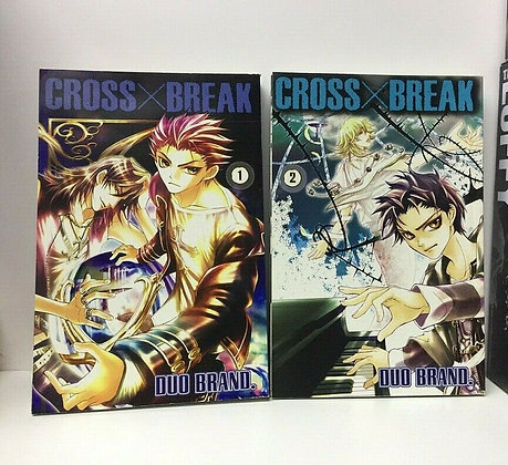CROSS X BREAK GN VOL Vol. 1,2 (Manga) (Books)