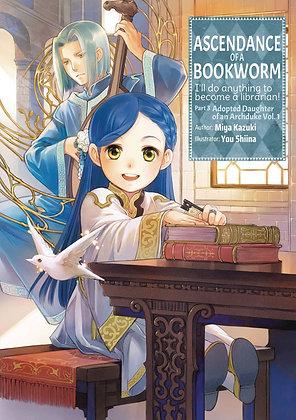 Ascendance of a Bookworm: Part 3 Volume 1 Novel Paperback April 6, 2021  J-NOVEL
