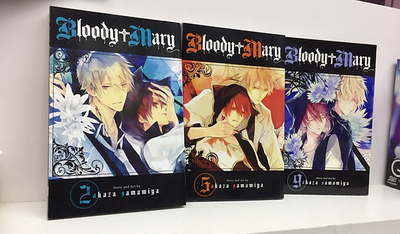 BLOODY MARY GN VOL 2,5,9 MANGA