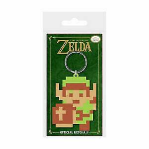 The Legend of Zelda Keychain Keyring for Fans -Pixel Link,