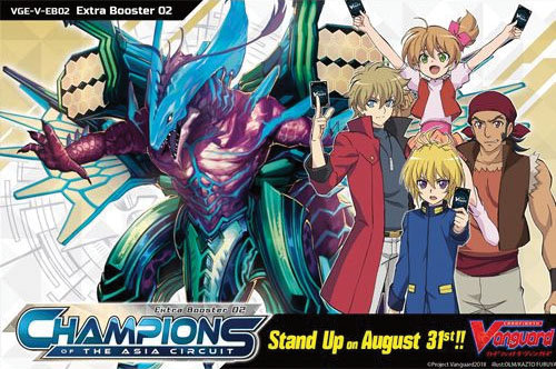 Cardfight Vanguard TCG: Champions of the Asia Circuit Booster Box  (12)