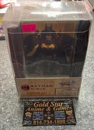 Weiss Schwarz Batman Ninja Booster Card Storage Supply Set Box