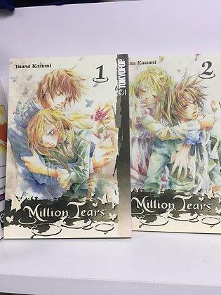 MILLION TEARS GN Vol. 1,2 TOKYOPOP (W/A/CA) Yuana Kazumi     Part two starts wit