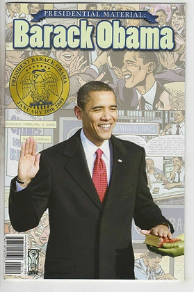 PRESIDENTIAL MATERIAL BARACK OBAMA  IDW PUBLISHING (W) Jeff Mariotte (A) Tom Mor