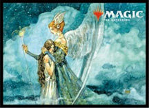 """""""MAGIC: The Gathering"""" Players Card Sleeve Ultimate Masters Angelic Renewal"""