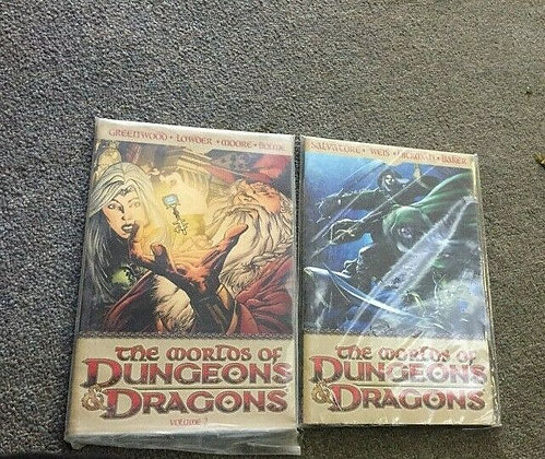The Worlds of Dungeons & Dragons Volume 1,2Paperback – November 11, 2008