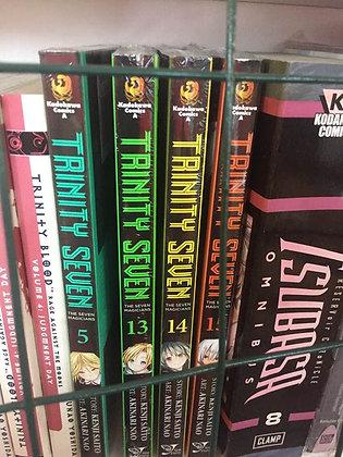 Trinity Seven Vol. 5,13,14,15: The Seven Magicians (Manga) (Books)