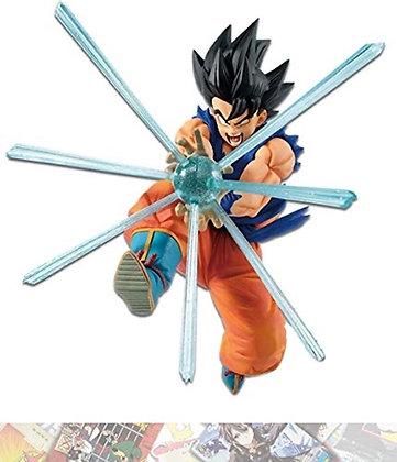 Son Goku:Presto G x Materia Statue Figurine & 1 A.C.G. Trading Card Bundle