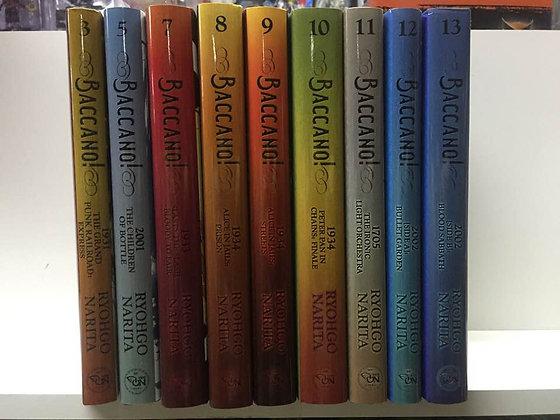 Baccano!, Vol. 1,3,5,7,8,9,10,11,12,13,14,15 (12 light novel) Hardcover Ryohgo