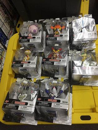 Set of 8 Pokemon Black & White Series 3 Basic Figure: Minccino,Dewott,Scraggy,