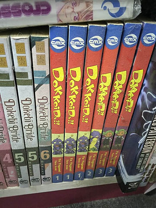 DOKKOIDA VOL 1,2,3 DC COMICS
