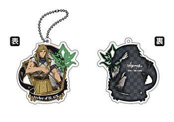 """""""Fate/Apocrypha"""" Acrylic Key Chain Black Archer"""