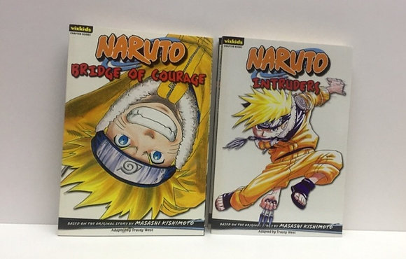 Naruto: Chapter Book, Vol. 5,8 (2 Books) – Illustrated, January 6, 2009