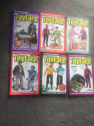 Twisted Toyfare Theatre Volume 2,3,4,5,6,7 (6 Paperback Books)  WIZARD ENTERTAIN