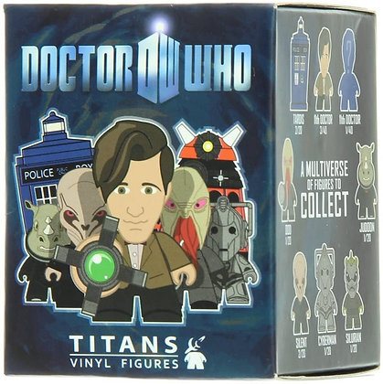Dr. Who Titans Vinyl Figures Mystery Blind Pack Series 1
