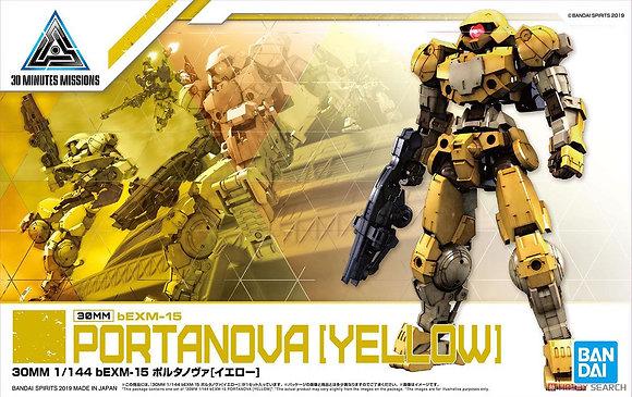 30MM bEXM-15 Portanova [Yellow] (Plastic model)
