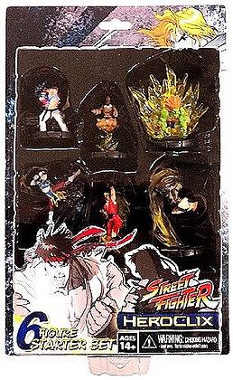 Street Fighter Heroclix Deluxe Starter Game Includes 6 Figures