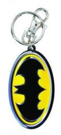 BATMAN PAINTED SYMBOL PEWTER KEYRING MONOGRAM PRODUCTS Carry your keys on these