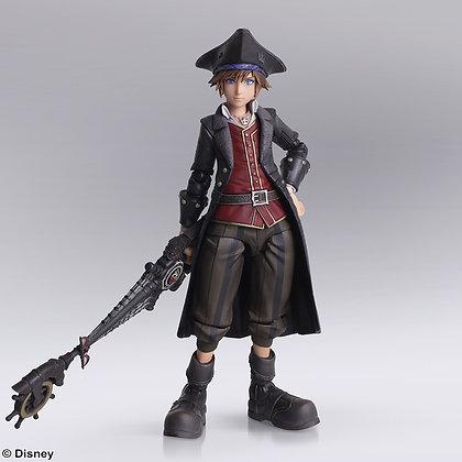 """Kingdom Hearts III"" Bring Arts Sora Pirates of Caribbean Ver. Figure"